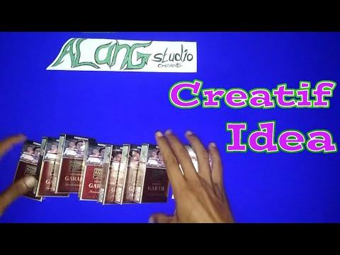 Ide kreatif dari bungkus rokok | kerajinan Tangan | keterampilan ...