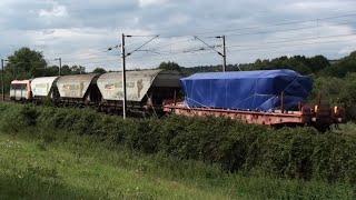 TGV, Fret & TER - Ligne Rennes-Vitré le 06/08/14