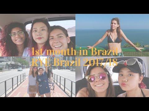 1st month in Brazil / Impressions // RYE Brazil 2017/18