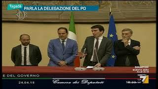 Consultazioni, Martina: 'Disponibili a valutare il fatto nuovo se Di Maio chiude il fronte con ...