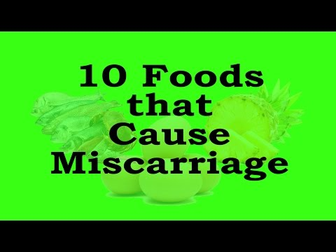 Foods to prevent for Reducing Miscarriage Risk