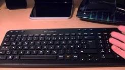 Logitech K360 Tastatur Review [Deutsch] [HD]