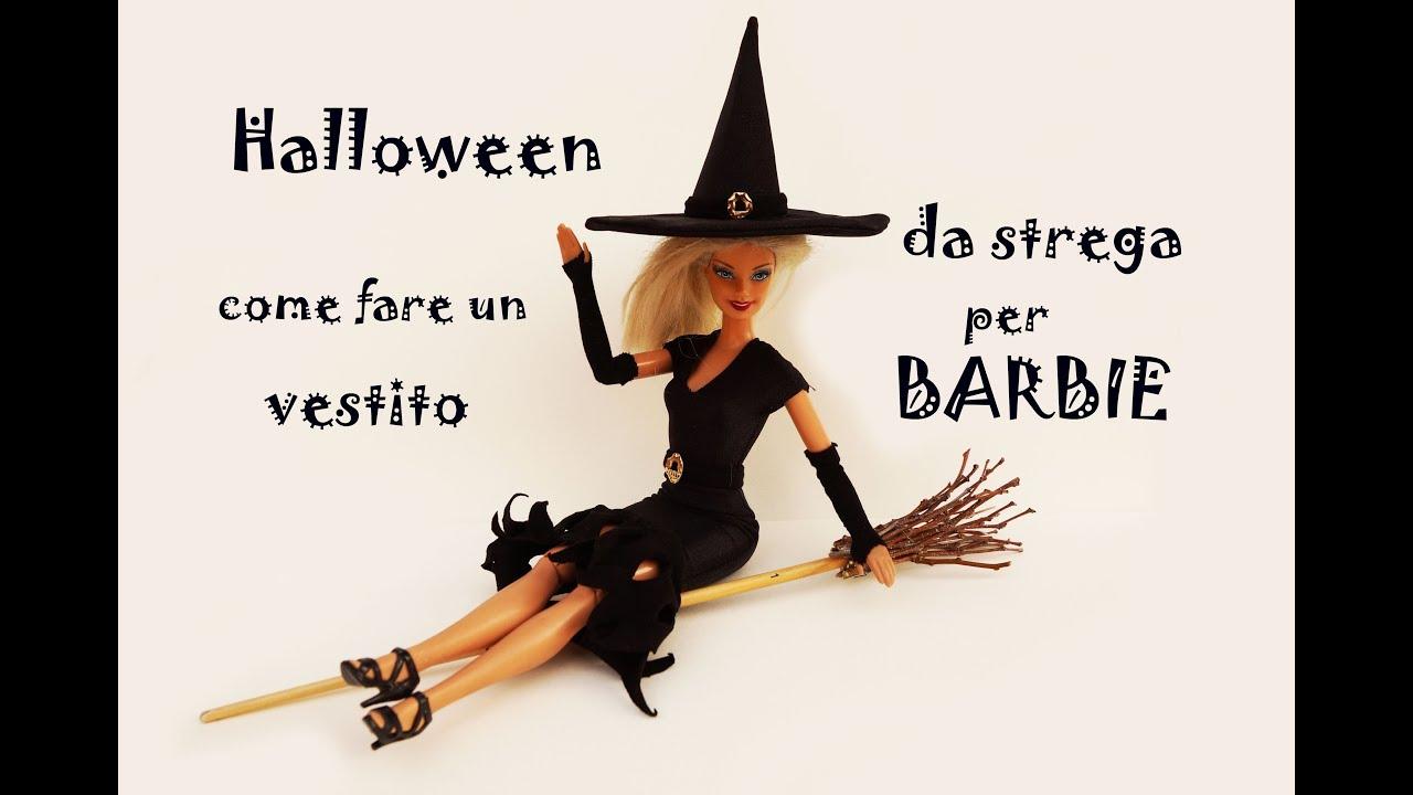 Vestiti Halloween Strega.Halloween Come Fare Un Vestito Da Strega Per Barbie