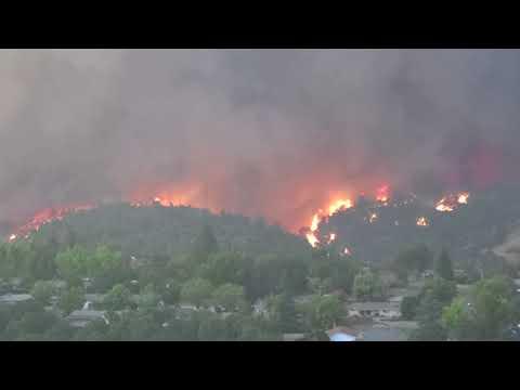 Carr Fire July 2018 Redding California Shasta  County B K Hotchkiss