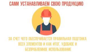 видео Распашные ворота в Алматы и Астане