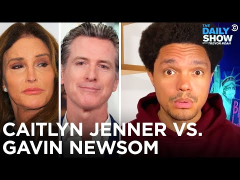 Caitlyn Jenner Takes on Gavin Newsom in the California Recall Election | The Daily Show