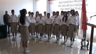 Lagu Indonesia Raya - Paduan Suara PMR SMP Katolik Palangka Raya