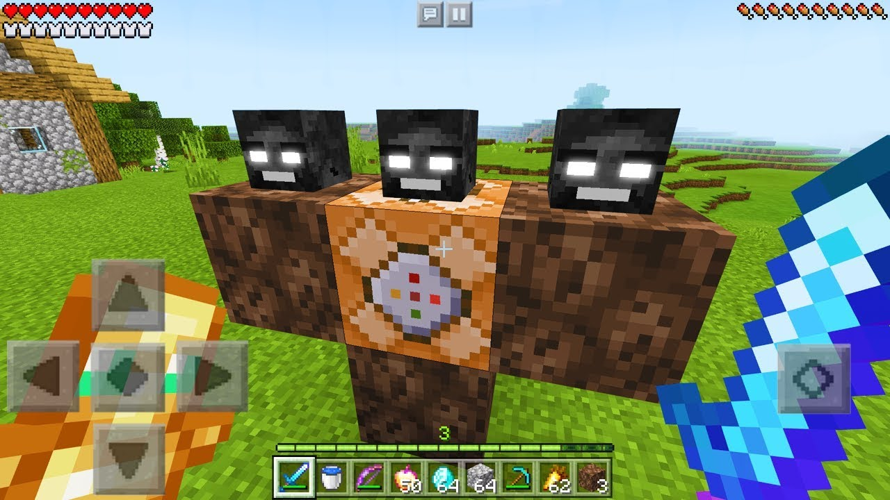 How to Spawn the WITHER STORM in Minecraft!