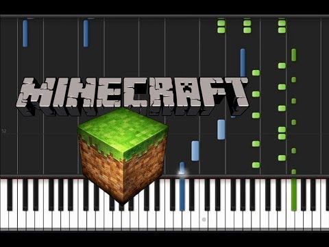 Minecraft - Main Theme [Piano Tutorial] (♫)