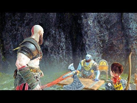 God of War 4 Find Brok's Lost Friend