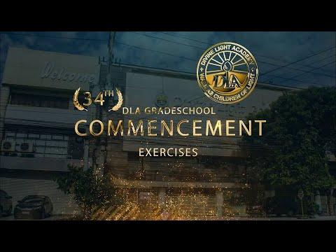 DLA Grade School 34th Commencement Exercises - 2021