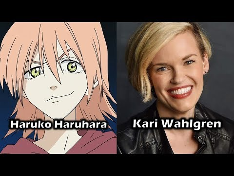 Characters and Voice Actors - FLCL (Fooly Cooly) (English Dub)