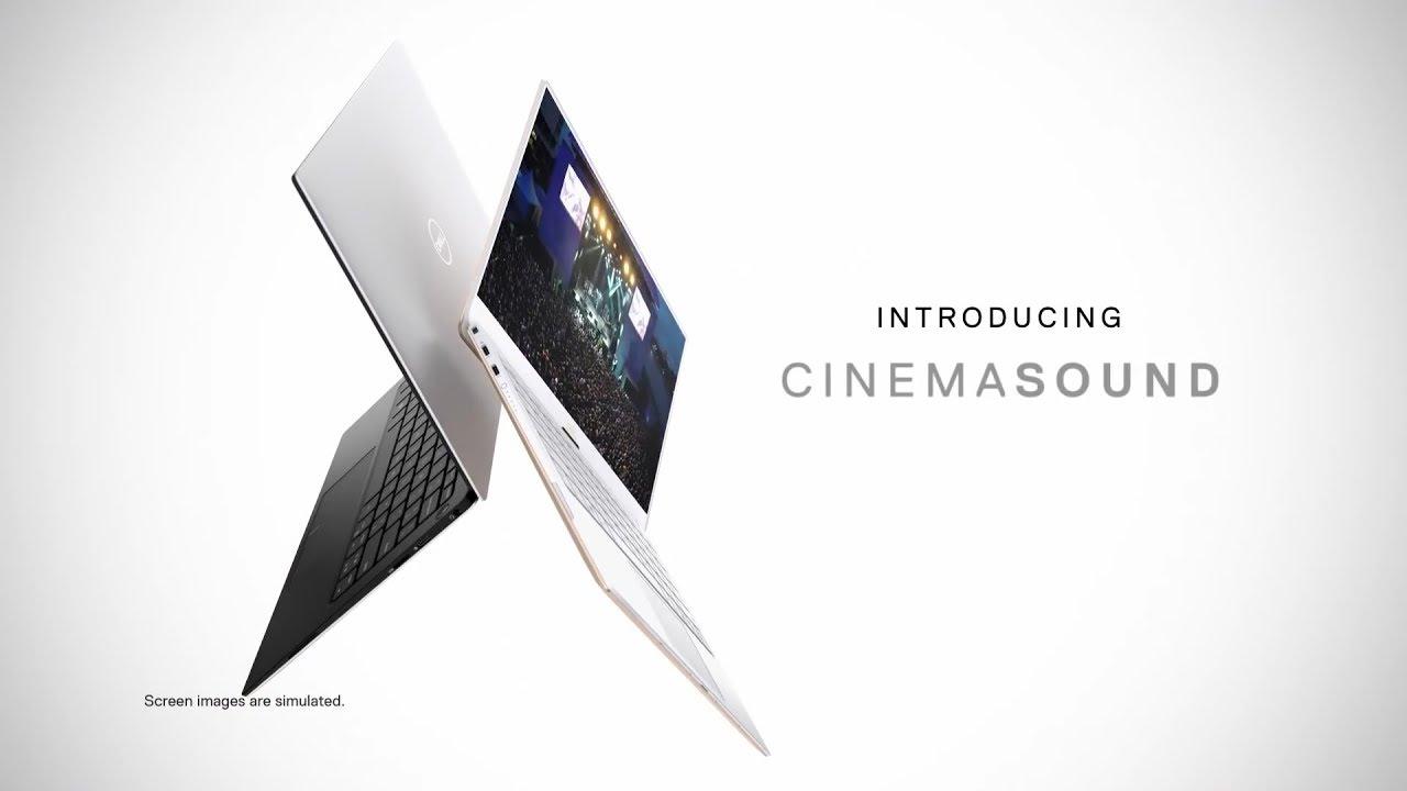 Dell laptop Cinema Cinema Sound