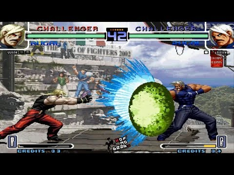 Rugal Vs Rugal Ping Pong Kof 2002 Youtube