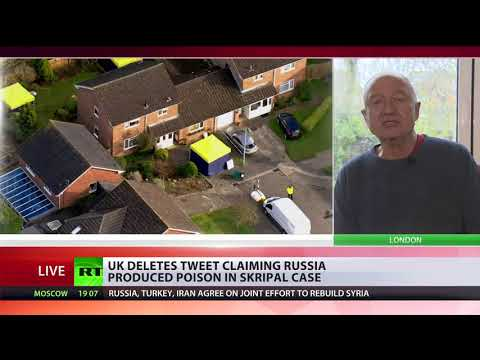 UK govt clearly doesn't want open and honest investigation on Skripal case - Ken Livingstone