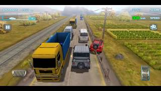 New Record Turbo Car Racing 3d. 2 way play mode bolero in country highway. screenshot 5