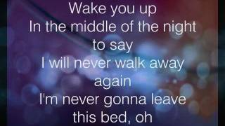 Download Never Gonna Leave This Bed - Lyrics - Maroon 5 Mp3