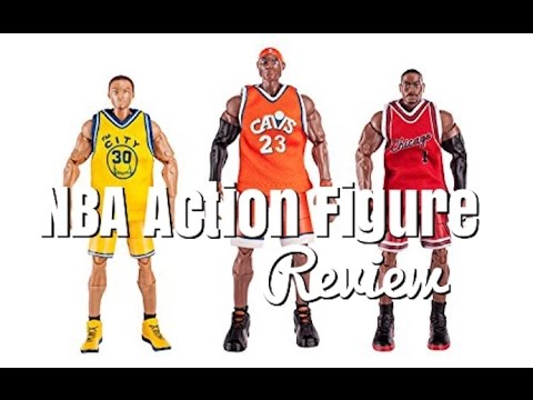 Nba Heroes Throwback Action Figures Review Youtube