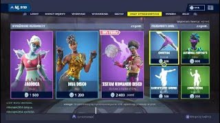 PACK DISCO 'NEW'! [31 décembre] Magasin d'articles/ Sklep Fortnite