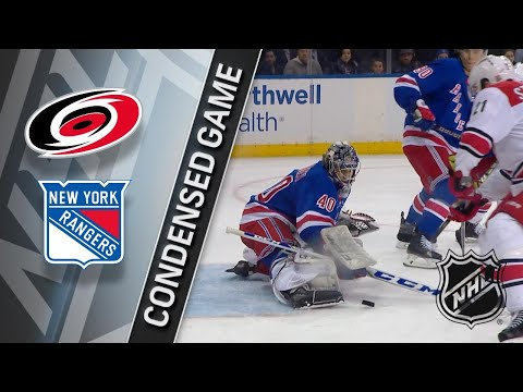 03/12/18 Condensed Game: Hurricanes @ Rangers