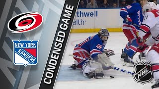 03/12/18 Condensed Game: Hurricanes @ Rangers