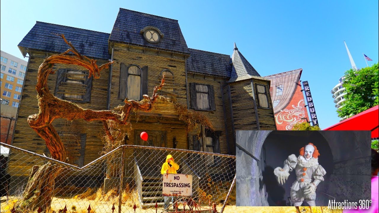 4K] The IT Experience - Haunted House Attraction - Hollywood ...
