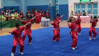 佛教林炳炎紀念學校D~學校組小學組五步拳 (2016全港公開