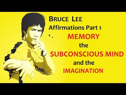 bruce lee affirmation part 1