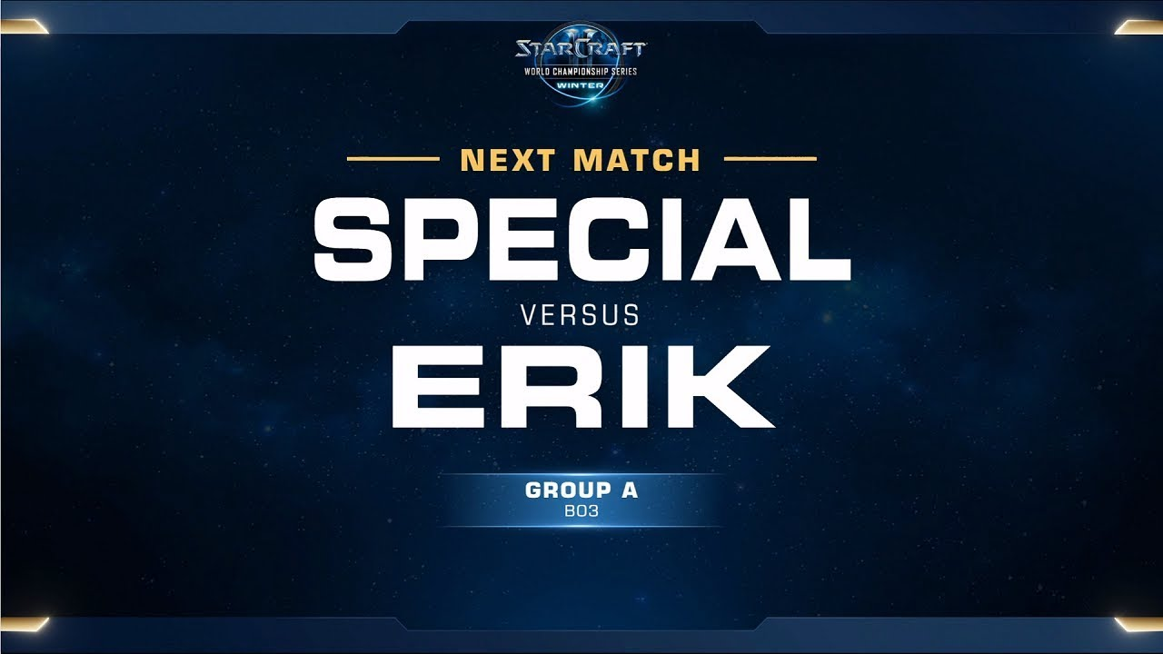 SpeCial vs Erik TvZ - Ro32 Group A - WCS Winter - Americas