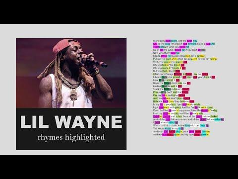 Lil Wayne on Mahogany - Lyrics, Rhymes Highlighted (126)