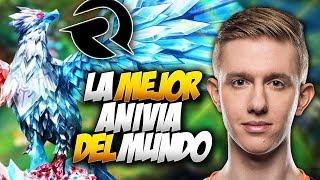 ESTO PASA SI DEJAN QUE FROGGEN USE ANIVIA!! | ORIGEN vs EXCEL | European Masters Español