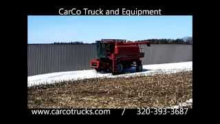 case ih 1660 combine tractor for sale by carco truck