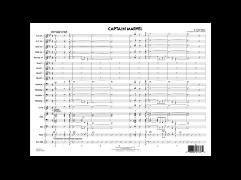 Captain Marvel by Chick Corea/arr. Mike Tomaro