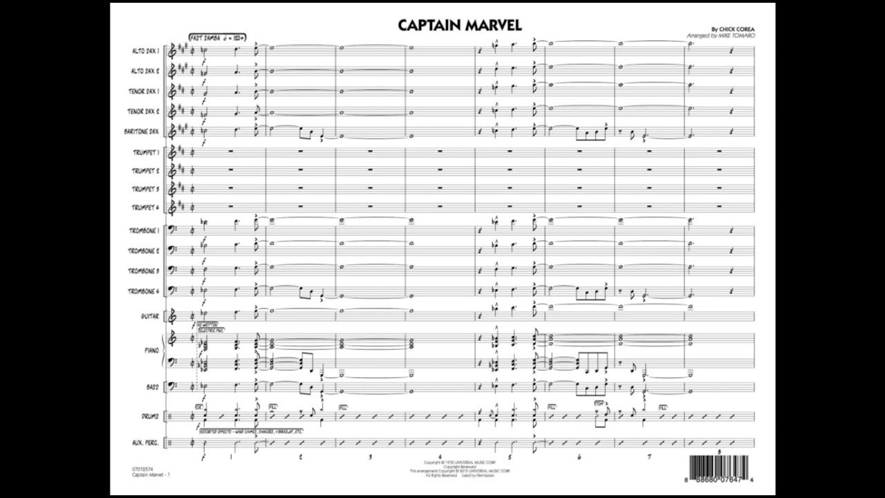 captain marvel chick corea