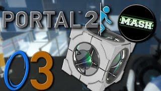 "Portal 2 ""Custom Maps"" [60fps] - mit MASH-MAve #03 -Let"