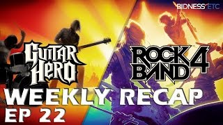 Rock Band 4 and Guitar Hero Live Weekly News Recap Ep 22   Song List Details, New Updates and More