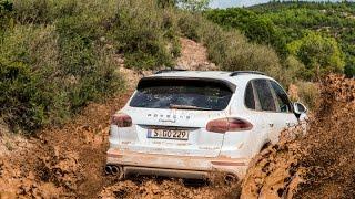 Porsche Cayenne S Diesel OFF ROAD TEST DRIVE
