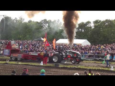 Tractor Puling 2017 EuroCup Brande DK HD 1080p