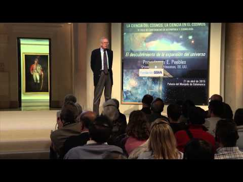 (Subtitling) Lecture by Prof. James E. Peebles from Princeton University, United States