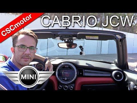 MINI Cabrio JCW - 2017 | Prueba en carretera