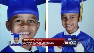 Car stolen, child found dead