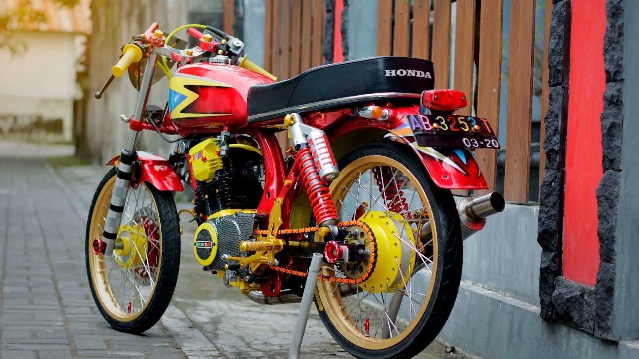 100 Modifikasi Motor Cb 100 Mesin Tiger Modifikasi Motor Honda CB