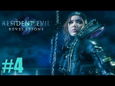 НЕ ТУДА ПРИПЛЫЛИ! ► Resident Evil: Revelations Прохождение #4 ► ХОРРОР ИГРА