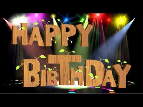 Mở đầu video mừng sinh nhật