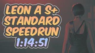 Resident Evil 2 Remake - Leon A Speedrun - 1:14:51