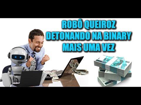 ROBÔ QUEIROZ DETONANDO NA BINARY MAIS UMA VEZ