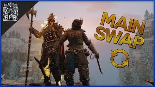 For Honor - Main Swap! W/Spliced
