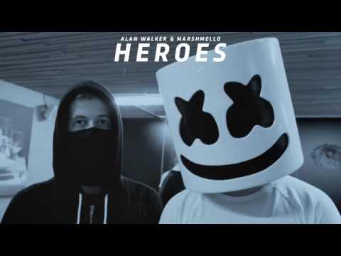 Alan Walker Feat. Marshmello - Heroes (Video Musik Unofficial)