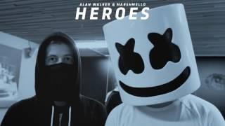 Download lagu Alan Walker feat Marshmello Heroes MP3