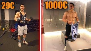 SALLE DE SPORT 29€ VS 1000€ !!
